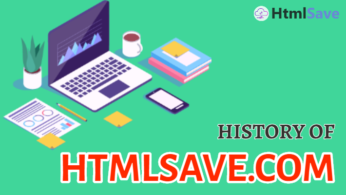 title image of History of HtmlSa...