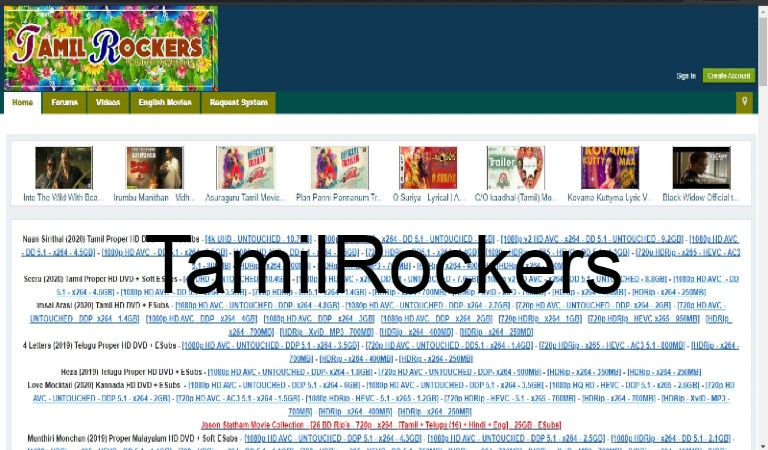 title image of About Tamilrocker...